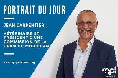 Portrait du Jour : Jean CARPENTIER, vétérinaire